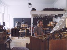 soundrooms:    Nils Frahm - Durton Studio Berlin