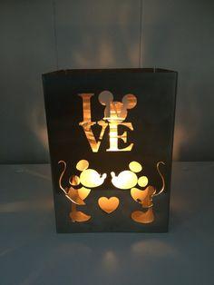 Mickey n Minnie Love Candle Holder