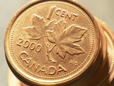 2000 Canadian Penny