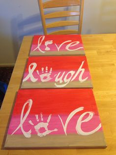 Valentines craft project