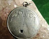 Vintage, Anhänger, Pendant, Locket, Photos, Foto, Silver, Silber, Restauration,