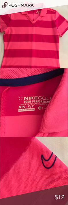 Nike golf, size m Only worn one time. Excellent condition. Nike Tops Tees - Short Sleeve