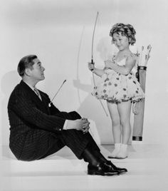 Jimmy Dunn and Shirley Temple, 1935