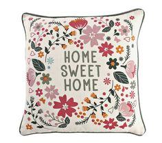 Obliečka na vankúšik s potlačou, 2 ks Sweet Home, Throw Pillows, Toss Pillows, House Beautiful, Cushions, Decorative Pillows, Decor Pillows, Scatter Cushions