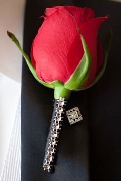bling bling boutonnieres - Google Search