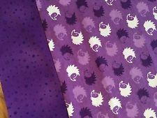 Flannel Pillowcase Purple Hedgehogs Teen Gift For Kids Handmade