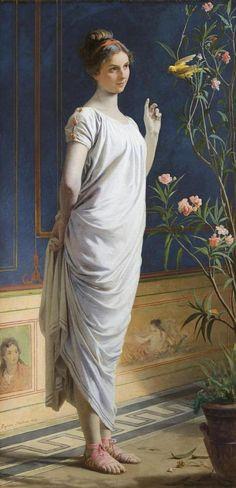 Pompeiana, Eleuterio Pagliano. Italian (1826-1903)