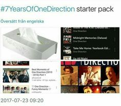 #7yearsofonedirection♡ I did all of this