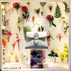 "BOONTHESHOP, Cheongdam, Gangnam, South-Korea, ""Live Wild, Flower Child"", for Delvaux Handbags, pinned by Ton van der Veer"