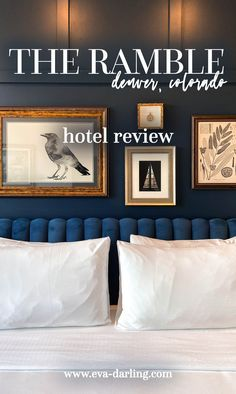 The Ramble Hotel in RiNo, Denver, Colorado is one of the best luxury boutique hotels in Colorado and features Death & Co dining experiences! This hotel is so instagrammable and one of the best indoor photo locations in Denver. best hotel in denver, where to stay in colorado, unique denver hotel, fun things to do in colorado, trendy 4 star hotel in denver PINTEREST: @eva_darling