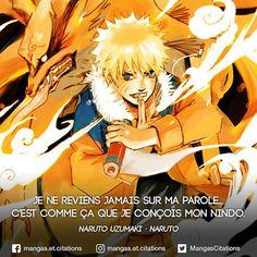 Le nindo de Naruto, un culte ! Naruto Uzumaki, Gaara, Boruto, Manga Anime, Otaku Anime, Ninja, Be Like Meme, Vinland Saga, Manga Quotes