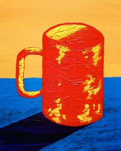 Go visit this, it' s awesome! Etsy listing at https://www.etsy.com/listing/240831573/the-morning-cup-of-coffee-original