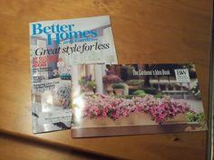 Free subscription and garden idea book
