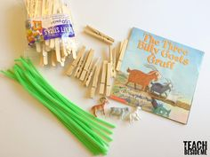 This Three BIlly Goats Gruff Storybook STEM project is a perfect way to teach young kids engineering. Preschool Art, Preschool Activities, Troll, Science Experiments Kids, Elementary Science, Science Lessons, Kindergarten Stem, Billy Goats Gruff, Puppets For Kids