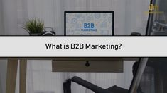 marketing stands for business-to-business marketing. It refers to the techniques that companies implement to sell their products and services to other businesses. Watch the video to know more. Competitor Analysis, Lead Generation, Business Marketing, Watch, Amazing, Inspiration, Things To Sell, Products, Biblical Inspiration