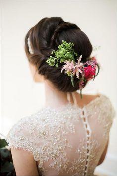 Wedding updo hair ideas
