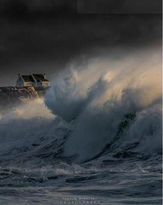 Wild Atlantic Way, Atlantic Ocean, Irish Weather, Ocean Storm, Sea Photography, Stormy Sea, Irish Sea, Beautiful Nature Scenes, Amazing Nature