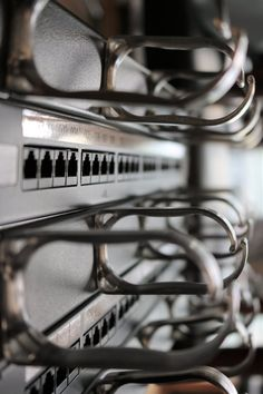 Precise patch panel labelling scheme will help you easily identify and migrate your users to an existing or new system. Structured Cabling, Network Solutions, Cable Management, Cord Management