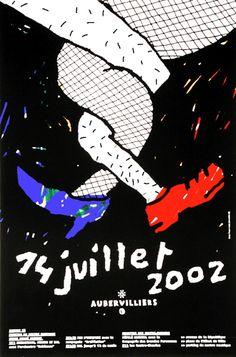 Nous travaillons ensemble - Aubervilliers, 14 juillet 2002