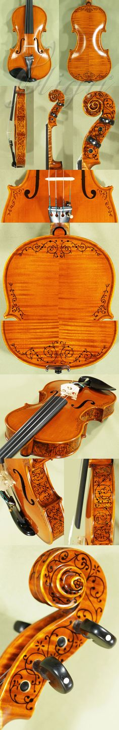 VASILE GLIGA Inlay Work Violin
