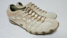 Skechers Bikers Casual Shoes, #21468, Beige/Brown, Women's US Size 9.5 #Skechers #CasualShoes
