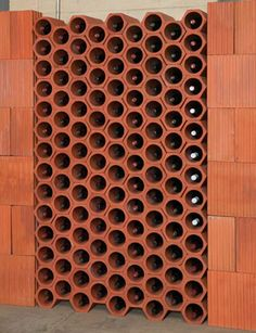Terra Cotta Wine Pods by Superior Clay Corporation