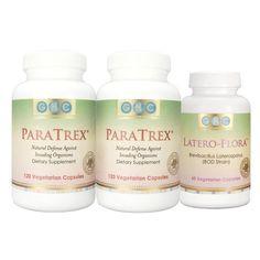 Excellent kit for parasite detox.