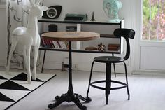 wood bistro table for your home. Create your atmosphere with wonderful rustic table