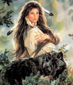 Native American Maija Art | Black Magic MAIJA | Native American Art..