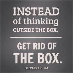 Get rid of the box! #mindblown