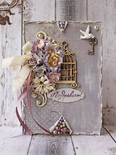 Wow what a gorgeous card! I love the colors chosen for this one. Lots of good details in this.