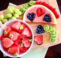 Kunstvolles aus Obst zaubern