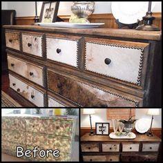 repurpose or bring life to a tired old dresser.