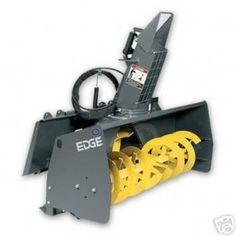 "CE Attachments Edge SB620D Snow Blower 60"" Attachment Skid Steer Bobcat"