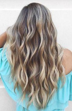 Best Hair Color Ideas 2017 / 2018 beautiful bronde balayage