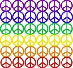 peace sign - .