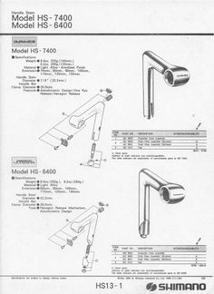 Dura-Ace Stem > Specifications & Parts Vintage Bike Parts, Bicycle Parts, Track Cycling, Cycling Bikes, Beautiful Words, Biking, Envy, Frames, Prints
