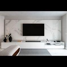 Home Living Room, Living Room Decor, Modern Tv Room, Living Room Tv Unit Designs, Home Theater Rooms, Home Room Design, Apartment Interior, House Rooms, Modern Contemporary