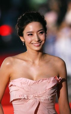 The beautiful Han Chae Young