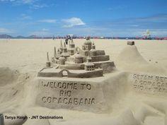 #Copacabana #Beach # Rio #South #America