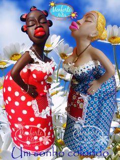 bonecas africanas em gesso - Pesquisa Google