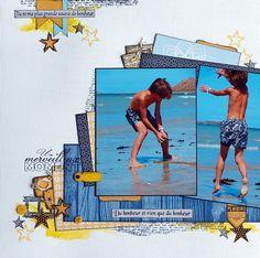 2 photo 1 page beach swim
