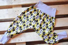 baggy spodnie Myszka Mickey ROZM 86/92 - GALLSEWING - Spodnie dla dzieci
