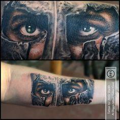 Spartan tattoo by amir shaikh   #amirshaikh #spartan #tattoo