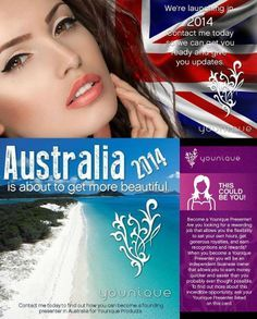 Australia let's get it! www.youniqueproducts.com/sparkingflawlessbeauty