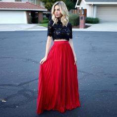 Black Red Two Piece Prom Dresses Long A Line Evening Dress Formal Party Dresses,Two Piece Prom Dress,Black and red prom dress - Tenues Elegant Homecoming Dresses, Prom Party Dresses, Prom Gowns, Dress Prom, Graduation Dresses, Dress Long, Wedding Dresses, A Line Evening Dress, Formal Evening Dresses