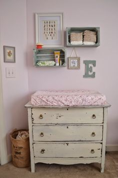 Shabby Sweet Tea: Shabby Chic Inspired Baby Nursery