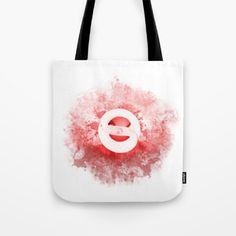 Red Light Bulb Tote Bag by JKdizajn - $22.00