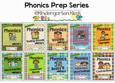 The Phonics Prep Series. Over a thousand pages of phonics practice!