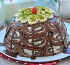 Muzlu Kolay Kubbe Pasta Tarifi